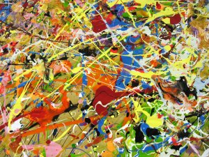 America Has Been Transformed Into A Pollock Painting